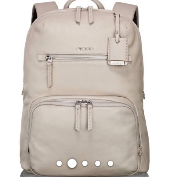 NWT Tumi Voyager Halle Leather (Women) Backpack. M 5b85cd7c12995595e5d64d3d 9dd724a7b5